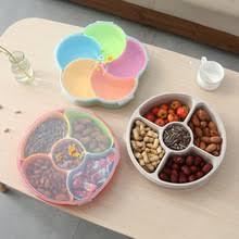 Фруктовый пластиковый поднос для еды, семейный десерт ...