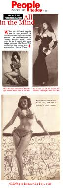 bunny yeager bio bunny yeager magazine article bunny yeager pics bettie page bunny yeager people today magazine 1955