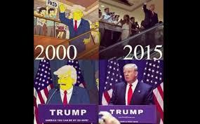 Bildergebnis für Die Simpsons und donald Trump