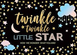 AIIKES 7x5FT Twinkle Star <b>Photography</b> Backdrop Cute Baby ...