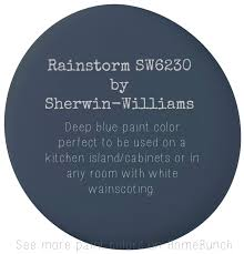 painted blue kitchen cabinets house: shutters too rainstorm by sherwin williams deep blue paint color perfect to be used on a kitchen island cabinets or in any room with