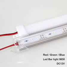 2019 <b>Super Bright</b> 50CM Rigid Strip 5630 LED Bar Light Blue Green ...