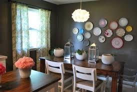 room budget decorating ideas:  decorate plates