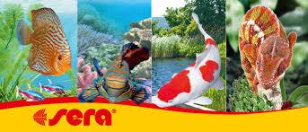 <b>Sera</b> - товары для аквариумов, садовых прудов и террариумов