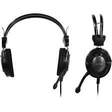 <b>Наушники</b> с микрофоном (гарнитура) <b>A4Tech HS</b>-<b>19</b>-1 Grey ...
