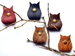 <b>Headphone case</b> owl leather tech accessory cable organizer holder ...