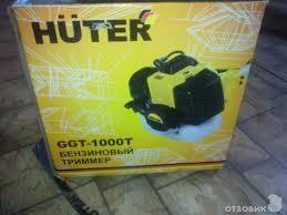 Обзор <b>Бензинового Триммера Huter</b> GGT-1000T (Отзыв ...