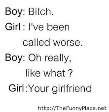 Funny conversation between a boy and a girl | Funny Pictures ...