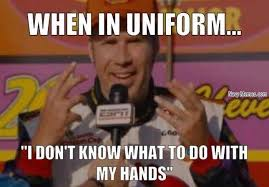 When in uniform, what do I do with my hands - Navy Memes - clean ... via Relatably.com