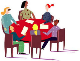 Image result for staff meeting clipart