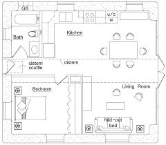 hurricane resistant   Earthbag House PlansBeach House  click to enlarge