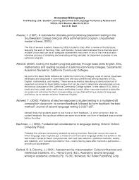 MLA Format MLA Format Annotated Bibliography Example  MLA Annotated Cover Letter Templates