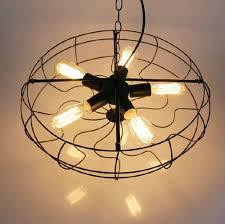 country kitchen lights vintage iron pendant