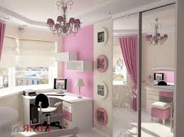 bedroom for girls: the pink colors in bedroom for girls decoration new home designs intended for kids room pink