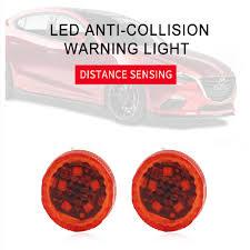 NEW 5 LEDs <b>Car</b> Door <b>Opening</b> Warning Lights <b>Wireless Magnetic</b> ...