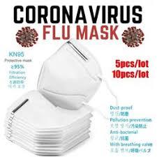 5/10pcs KN95 Soft Face Mouth Mask KN95 N95 PM2.5 ... - Vova