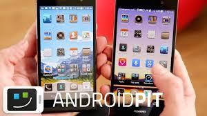 Huawei Ascend P7 vs Ascend P6 [COMPARISON] - YouTube
