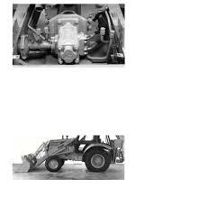 case 580k backhoe axle area