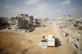 and gaza war one year on interactive photos show scenes gaza one year on