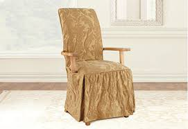 dining chair arms slipcovers: image description image description  env matedamask gold adrc image description image description
