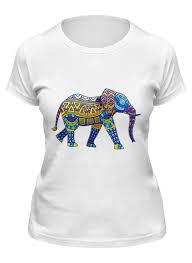<b>Printio футболка классическая</b> индийский слон