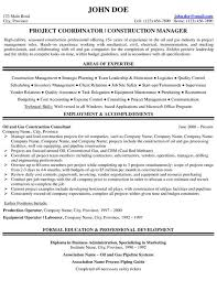 project manager resume sample resume samples for project managers