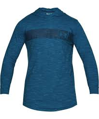 UNDER ARMOUR MEN'S <b>SPORTSTYLE CORE HOODIE</b> - BLUE ...