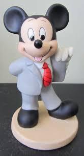 RARE <b>Disney</b> Mickey Mouse Businessman Lawyer? Ceramic ...