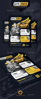 auto spare parts flyer templates flyer template flyers and auto auto spare parts flyer template psd indesign indd here