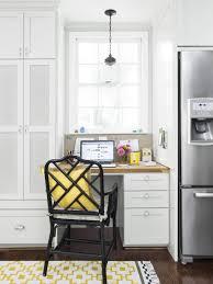 full size built kitchen desk