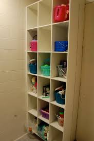 bathroom cubbies