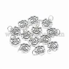 Wholesale Thai <b>925 Sterling Silver</b> Charms, with Jump Ring ...
