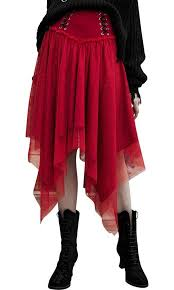 Punk Rave - <b>Nebulae</b> Red <b>Skirt</b> - Buy Online Australia – Beserk
