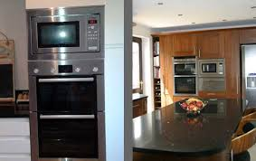 double ovens fitted unit integrated microwaves  microwave integrated microwaves