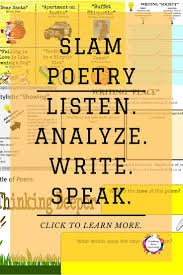 best ideas about writing poetry poetry something for everyone who is interested in teaching spoken word poetry slam poetry
