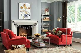 ideas contemporary living room:  tags contemporary living room with eaton loveseat durham tall bookcase the bask art crown