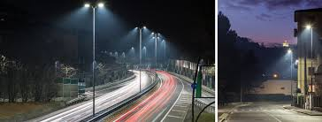 project for the new led street lighting in bergamo with italo street lamp designed by aec aec eco lighting