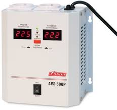 Купить <b>Стабилизатор</b> напряжения <b>POWERMAN AVS</b>-500P в ...