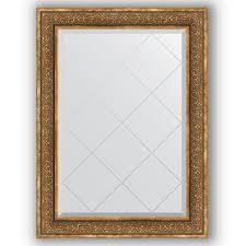 Купить <b>Зеркало 79х106 см вензель</b> бронзовый Evoform Exclusive ...