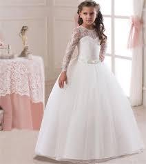 <b>Romantic</b> Lace #<b>Puffy</b> #<b>Lace</b> Flower #Girl #Dress 2018 for ...