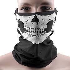 Hitaocity Motorcycle Skull Mask / Wear Headgear ... - Amazon.com