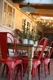 the red chairs the lights the perfect christmas porch via holly mathis interiors brown set patio source outdoor
