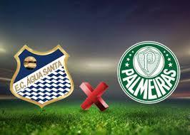Image result for logo Agua Santa vs Palmeiras