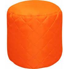 Банкетка стёганая Пазитифчик БМО11 оранжевый - купить в ...