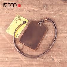 AETOO <b>Original</b> personality <b>handmade</b> pendant <b>key</b> wallet retro ...