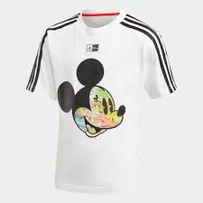 adidas <b>Футболка Disney Mickey Mouse</b> - белый | adidas Россия