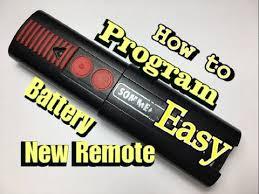 <b>Sommer Garage Door Opener</b>: Remote Replacement, Programming ...