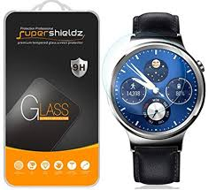 for <b>Huawei</b> Watch <b>Tempered Glass</b> Screen Protector, Anti Scratch