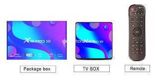 <b>X88 Pro</b> 10 <b>Android</b> 10.0 - 4K TV Box (4G/32GB) For Just $31.99