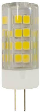 <b>LED JC</b>-<b>5W</b>-<b>220V</b>-<b>CER</b>-<b>827</b>-<b>G4</b> ЭРА (диод, капсула, 5Вт, тепл, G4)